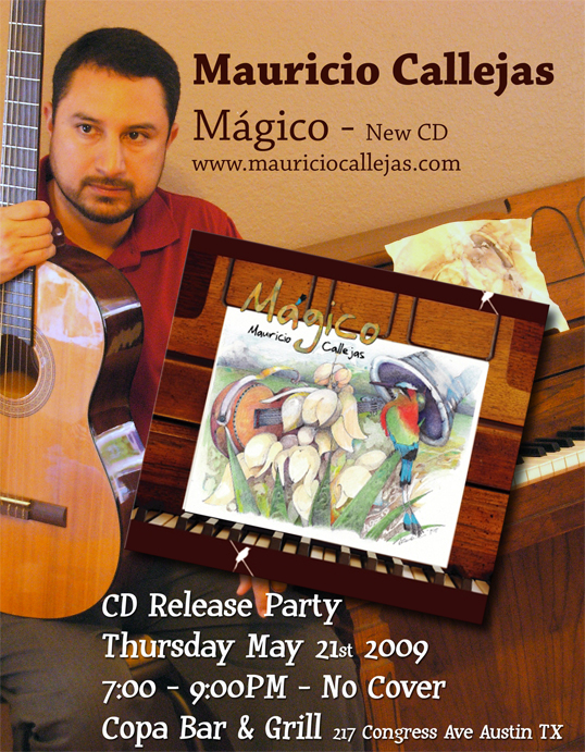 Magico CD Release Party